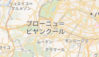 ブローニュ=ビヤンクール の地図