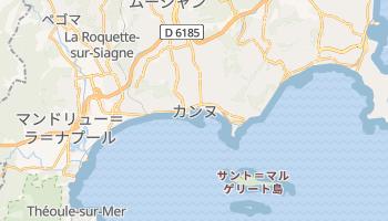カンヌ の地図