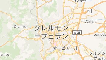 クレルモン=フェラン の地図