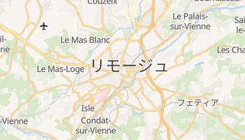 リモージュ の地図