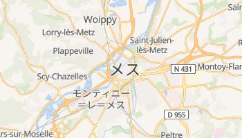 メス の地図