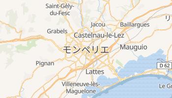 モンペリエ の地図