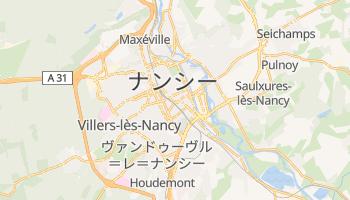 ナンシー の地図