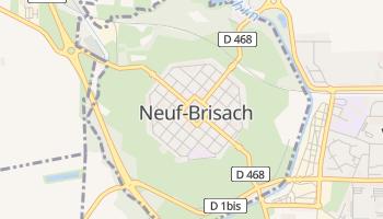 ヌフ=ブリザック の地図