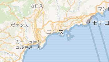 ニース の地図