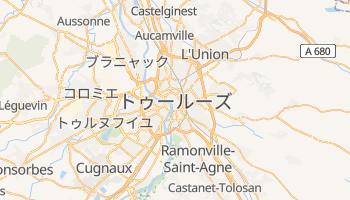 トゥールーズ の地図