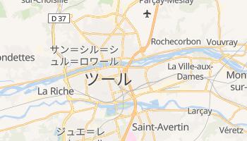 トゥール の地図