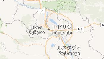 トビリシ の地図