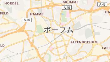 ボーフム の地図