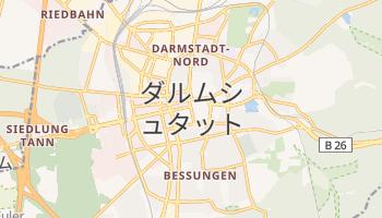 ダルムシュタット の地図