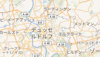 デュッセルドルフ の地図