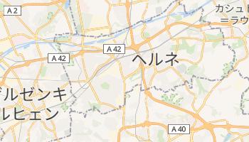 ヘルネ の地図