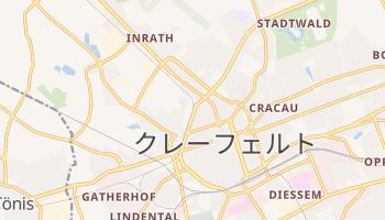 クレーフェルト の地図