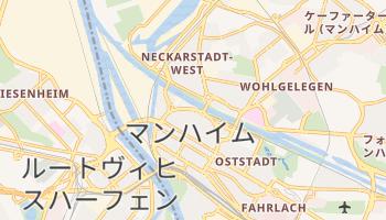 マンハイム の地図