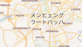 メンヒェングラートバッハ の地図