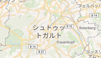 シュトゥットガルト の地図