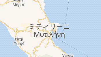 ミティリーニ の地図