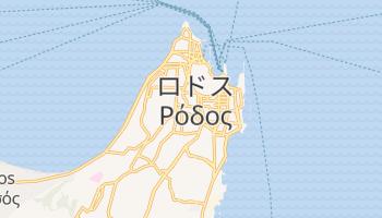 ロードス島 の地図