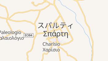 スパルタ の地図