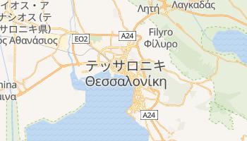 テッサロニキ の地図