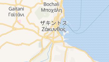 ザキントス島 の地図