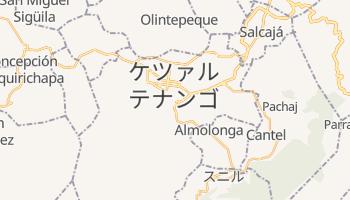 ケツァルテナンゴ の地図