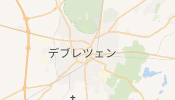 デブレツェン の地図