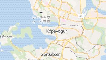 コーパヴォグル の地図