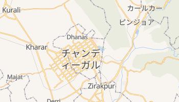 チャンディーガル の地図