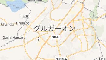 グルガーオン の地図
