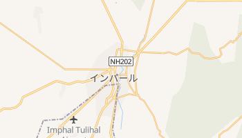 インパール の地図