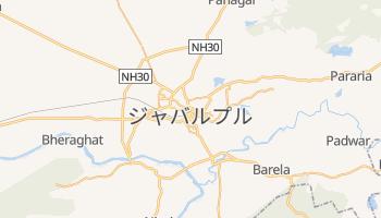 ジャバルプル の地図