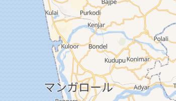 マンガロール の地図
