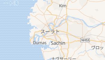 スーラト の地図