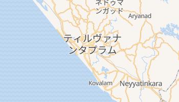 ティルヴァナンタプラム の地図