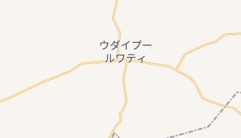 ウダイプル の地図