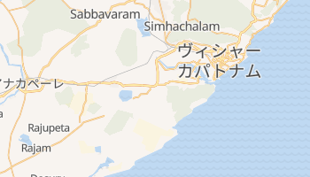 ヴィシャーカパトナム の地図