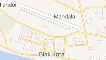 ビアク島 の地図