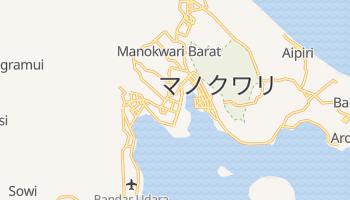 マノクワリ の地図