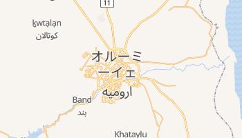 オルーミーイェ の地図
