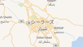 シーラーズ の地図