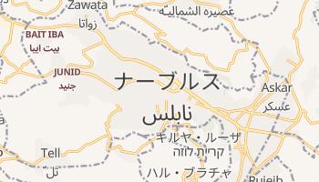 ナーブルス の地図
