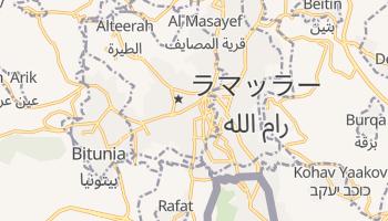 ラマッラー の地図