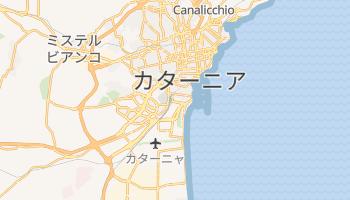 カターニア の地図