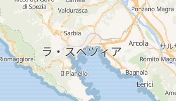 ラ・スペツィア の地図
