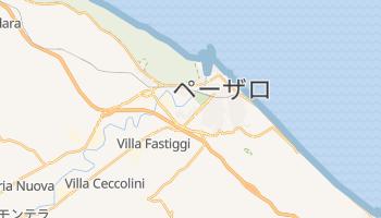 ペーザロ の地図