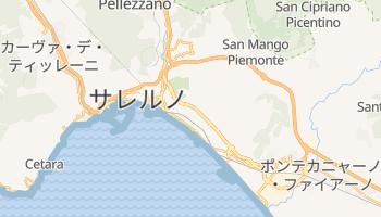 サレルノ の地図