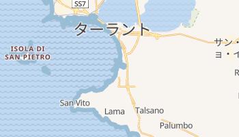 ターラント の地図