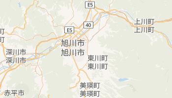 旭川市 の地図