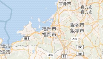 福岡市 の地図